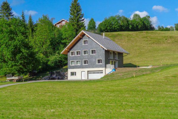 NUR HOLZ Einfamilienhaus Bühler Necker